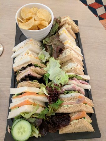 Corby, UK: sandwich selection
