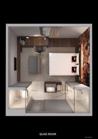 Luma Concept Hotel Room