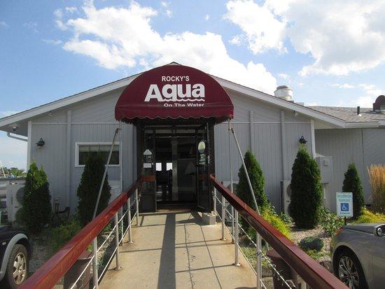 Aqua Restaurant Menu Clinton