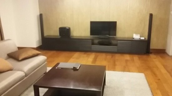 living room area, great sound system - Picture of ...
