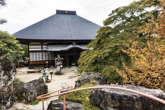 The Seizenji Temple on Mt. Seitaisan - 8th Pilgrimage Site