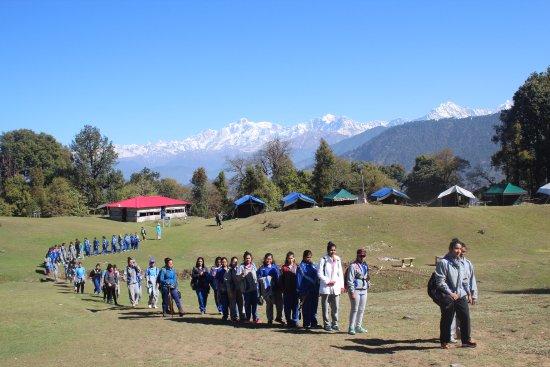 Magpie Jungle Camp Chopta Uttarakhand