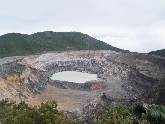 Poas Volcano National Park, Costa Rica: From the Top