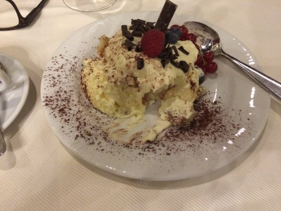 Ristorante Le Fonticine: The tiramisu was to die for