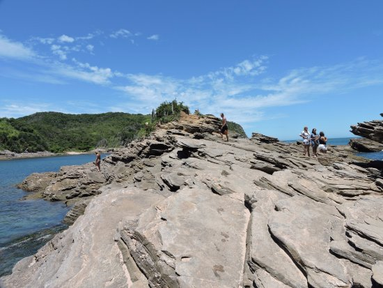 Búzios, RJ: Pedras da praia, muito visitadas