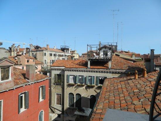 Hotel Savoia & Jolanda: la vue de la chambre