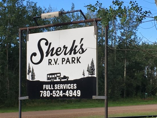 Valleyview, Canada: Sherk's RV Park
