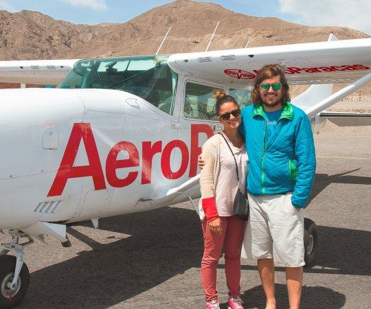 Nazca, Perú: Listos para sobrevolar las Líneas de Nasca