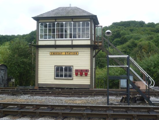 Embsay & Bolton Abbey Steam Railway: Points station
