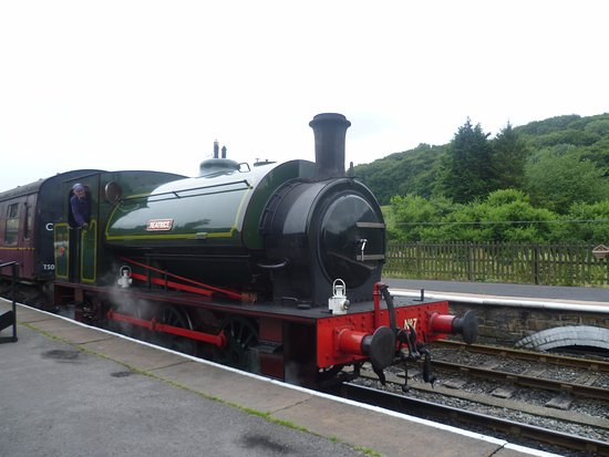 Embsay & Bolton Abbey Steam Railway: Train