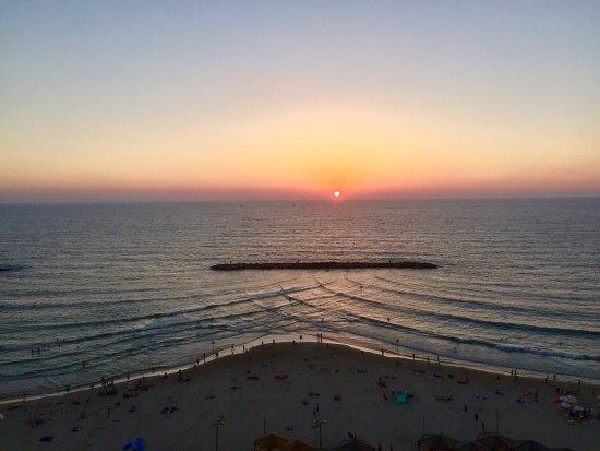 Sheraton Tel Aviv Hotel: Chambre face mer