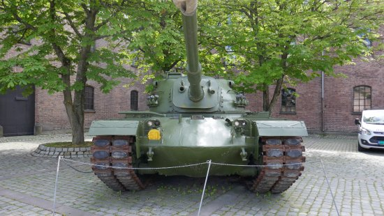 Armed Forces Museum : Frontansicht
