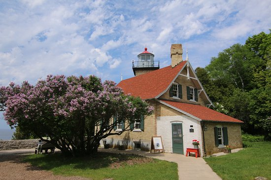 Eagle Bluff Lighthouse Fish Creek Wi Updated 2018 Top