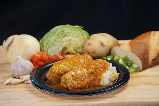 Kilgore, TX: Stuffed Cabbage with Hand Mashed Potatoes