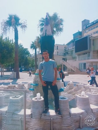 Denizli, Tyrkia: Horoz Heykeli