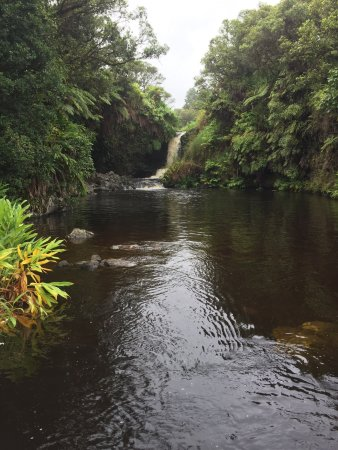 Kukuihaele, Hawái: Wonderful experience to be able to swim in these waters on our ATV trip