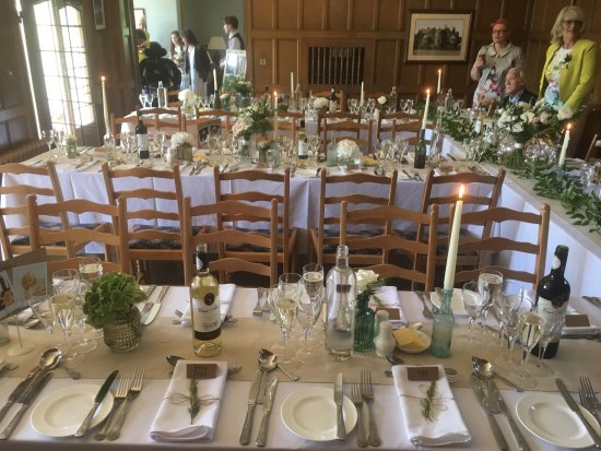 Cragwood Country House Hotel: wedding breakfast