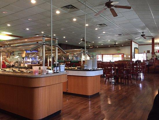 Heath, OH: Very clean. Wide variety of food,