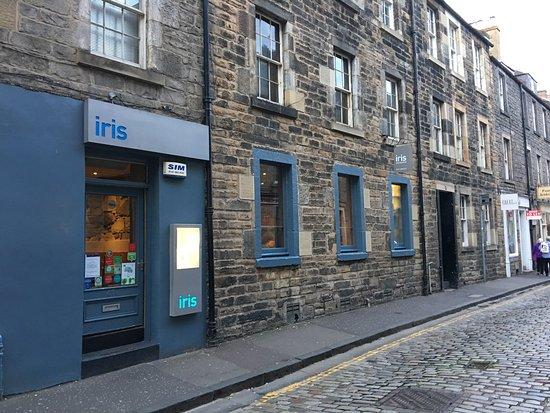 Iris Restaurant Thistle Street Edinburgh