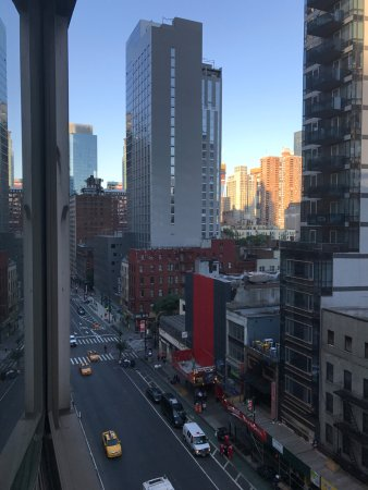 Hilton Garden Inn Times Square: view from 10th floor looking at 8th Avenue