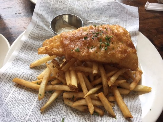 Athens, GA: Amazing Fish and Chips