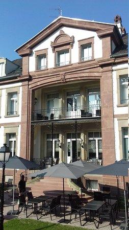 Chateau hochberg hotel wingen sur moder voir les for Hotels wingen sur moder