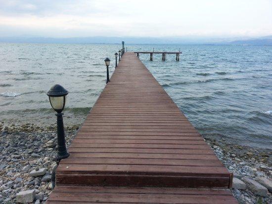 Iznik, Tyrkia: Gölden manzara