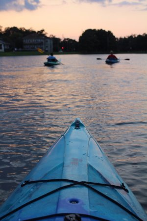 Kayak-iti-Yat Original Kayaking Tours of New Orleans: Sunset paddle