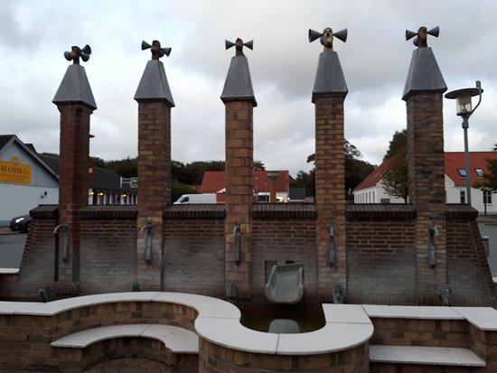Sindal, Denmark: Springvand De Betroede Talenter