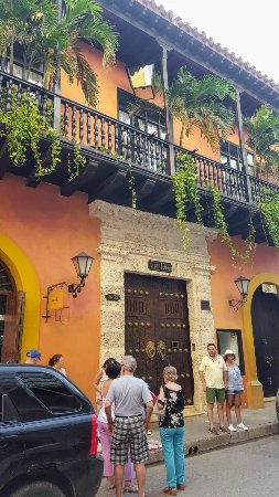 Muraille : Cartagena, Colombia Wall city