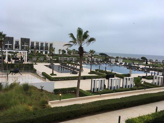 Hotel Sofitel Agadir Thalassa Sea & Spa: Vue depuis notre suite