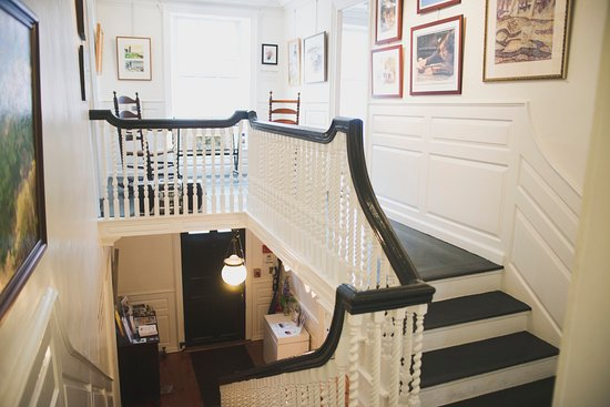 Marblehead, MA: The grand staircase