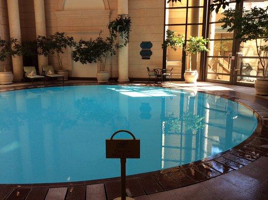Indoor Pool Picture Of Michelangelo Hotel Sandton Tripadvisor