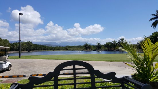 Mirage Country Club: From the cafe