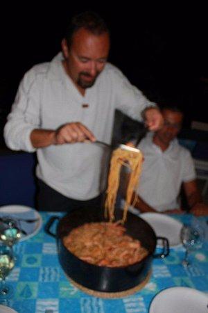 Kornat Island, Kroatien: spago di scampi alla buzara