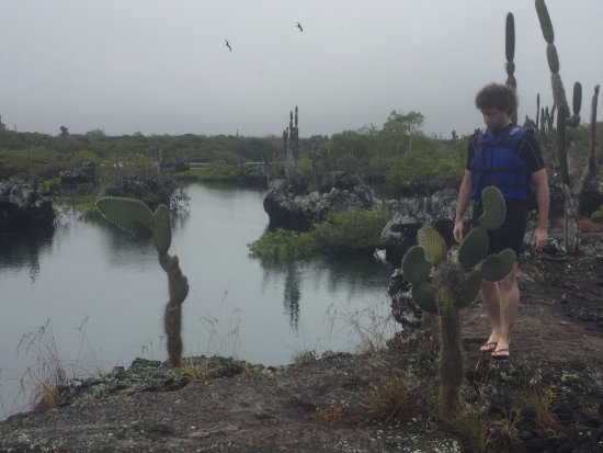 Puerto Villamil, Ecuador: una pileta natural