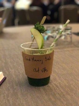 Hyatt Regency Reston: The little things do matter. Small thank you for planning an event.