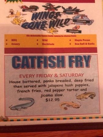 The Gunnisack: Catfish Fry Friday