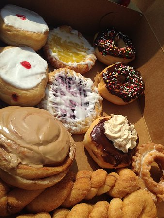 Russells Point, OH: Yummy donut varieties