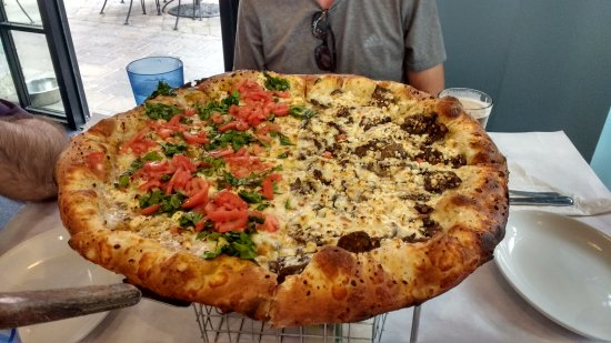 The Blue Moose: la pizza