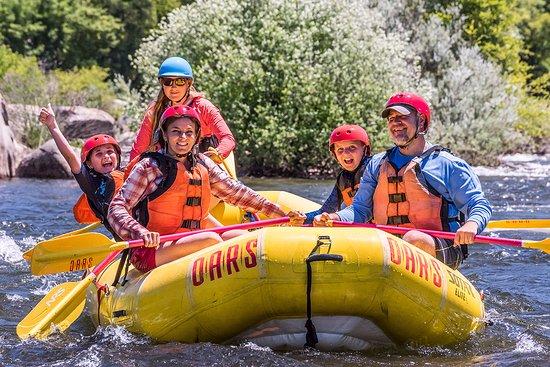 Lotus, Californië: South Fork American River rafting