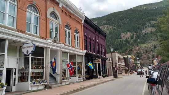 Georgetown, CO: calle principal
