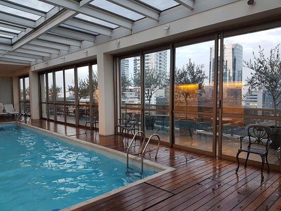 Hotel Madero : piscina cubierta