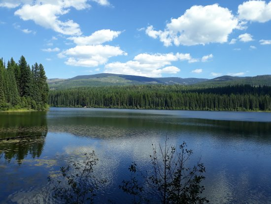 Rossland, Canadá: Beautiful Nancy Greene Lake