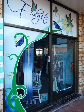 South West Rocks, Australia: Fidget's Shopfront