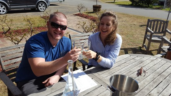 Branxton, Australia: Enjoying some Sparkling Brut ❤