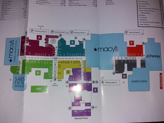 Mapa del Mall - Picture of Dadeland Mall, Kendall - TripAdvisor Dadeland Mall Map on