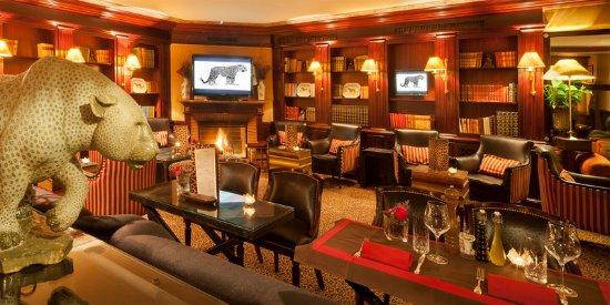 Hotel d'Angleterre: Leopard Lounge