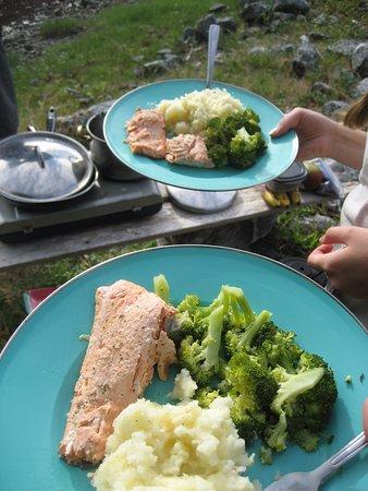 Heriot Bay, Canada: Dinner