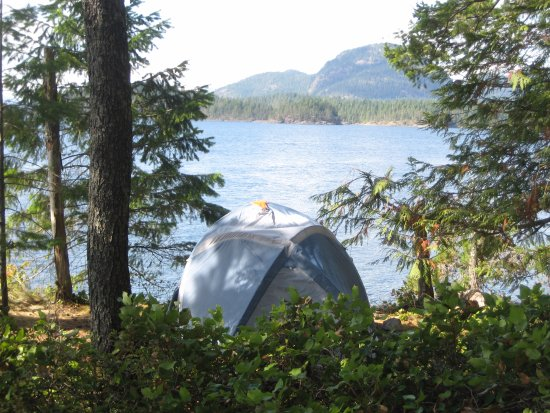 Heriot Bay, Canada: Freedom camp